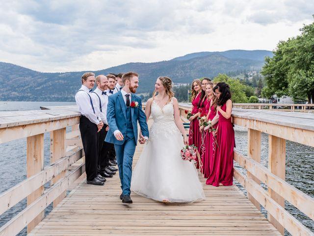 Nick and Josephine's wedding in Peachland, British Columbia 40