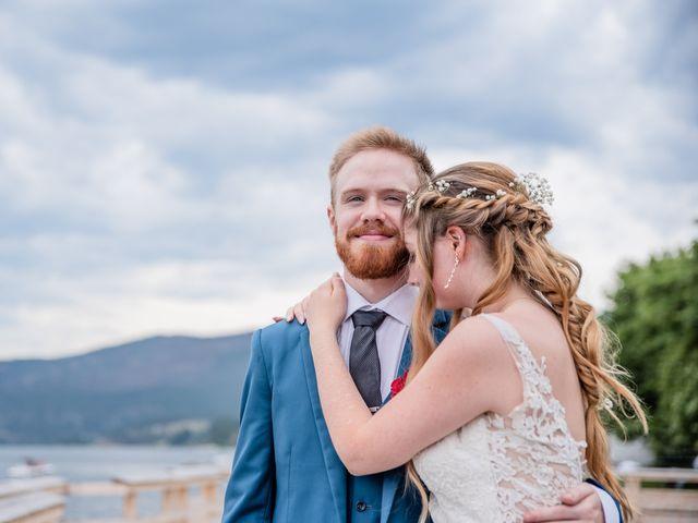 Nick and Josephine's wedding in Peachland, British Columbia 41