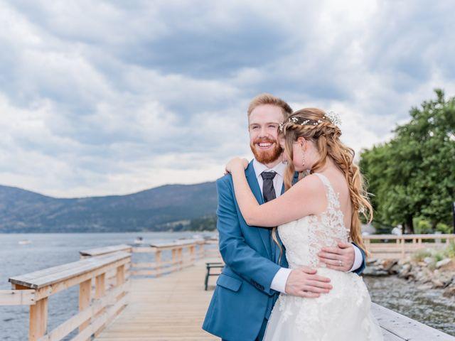 Nick and Josephine's wedding in Peachland, British Columbia 42