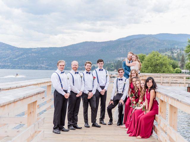 Nick and Josephine's wedding in Peachland, British Columbia 43