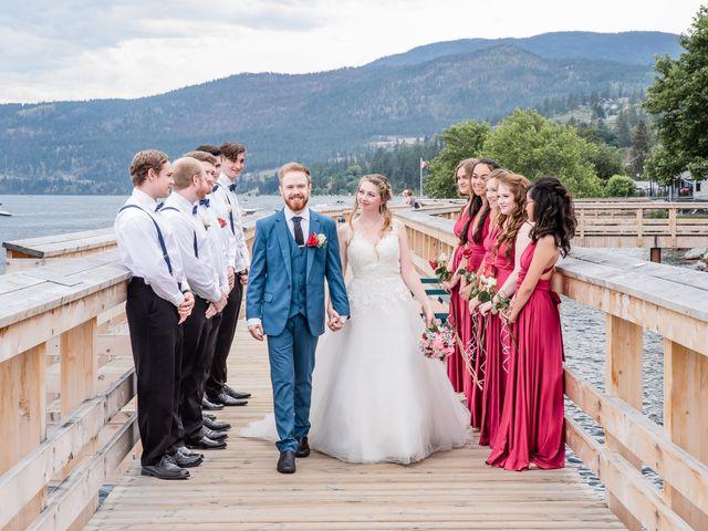 Nick and Josephine's wedding in Peachland, British Columbia 44