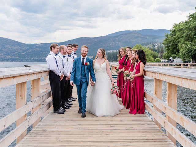 Nick and Josephine's wedding in Peachland, British Columbia 45