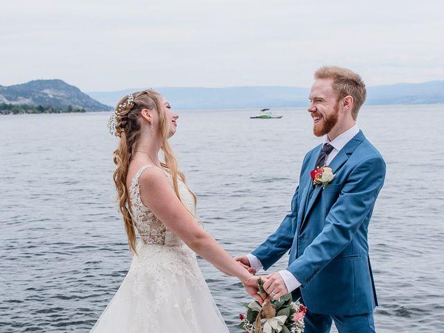 Nick and Josephine's wedding in Peachland, British Columbia 46