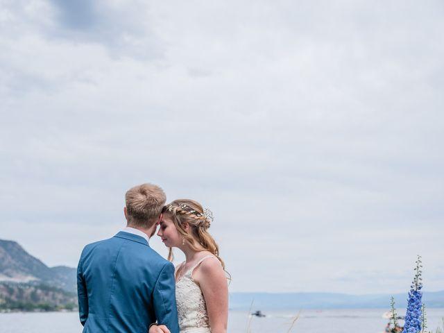 Nick and Josephine's wedding in Peachland, British Columbia 49