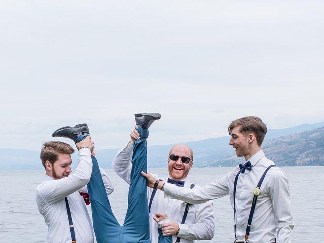 Nick and Josephine's wedding in Peachland, British Columbia 52