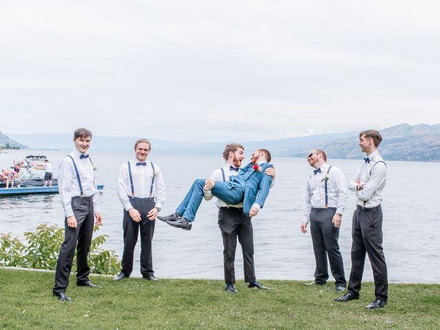 Nick and Josephine's wedding in Peachland, British Columbia 53