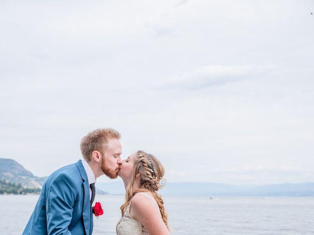 Nick and Josephine's wedding in Peachland, British Columbia 2