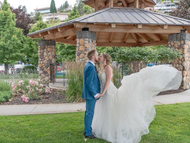 Nick and Josephine's wedding in Peachland, British Columbia 58