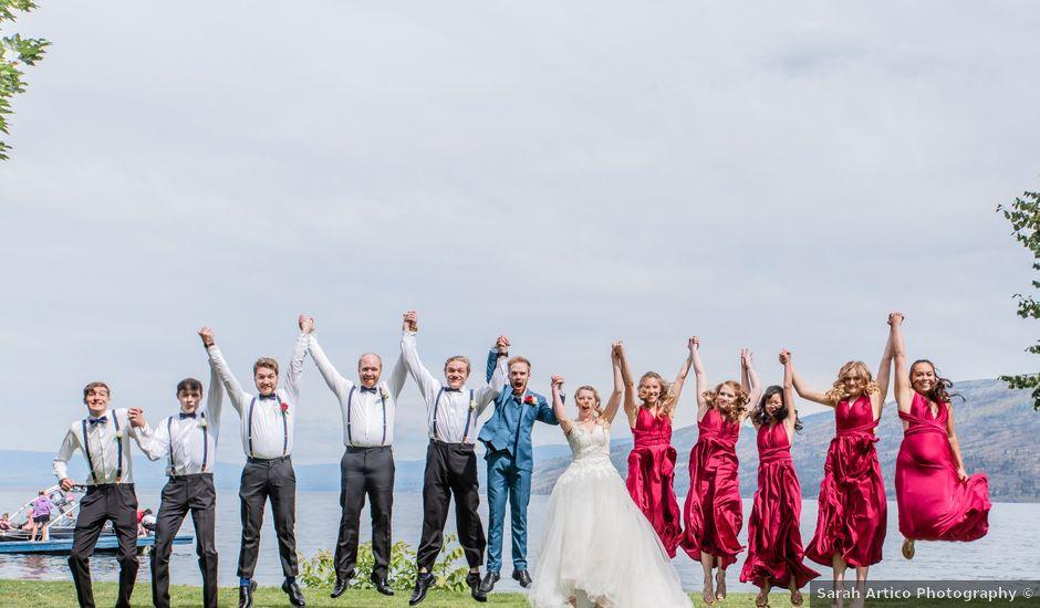 Nick and Josephine's wedding in Peachland, British Columbia