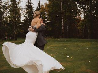 The wedding of Katrina and Dan