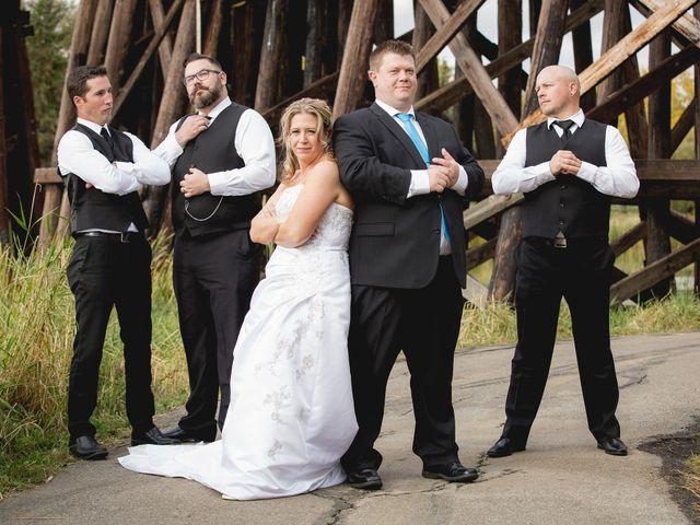 Neil and Amber's wedding in St. Albert, Alberta 2