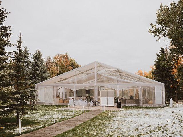 Dan and Katrina's wedding in Sylvan Lake, Alberta 5