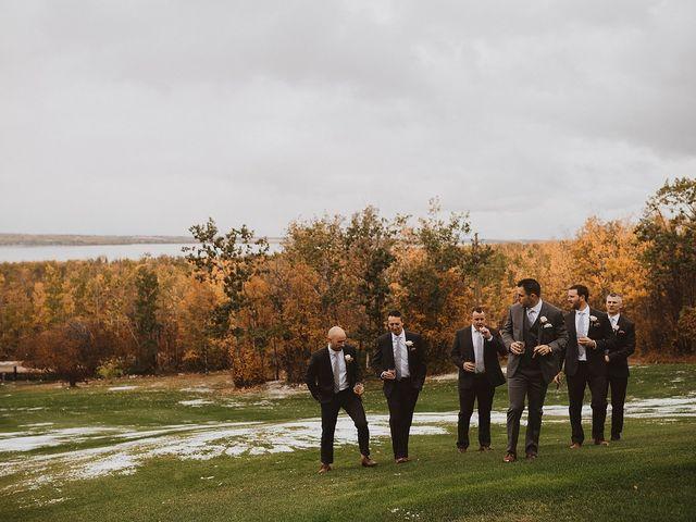 Dan and Katrina's wedding in Sylvan Lake, Alberta 11