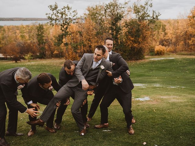 Dan and Katrina's wedding in Sylvan Lake, Alberta 20