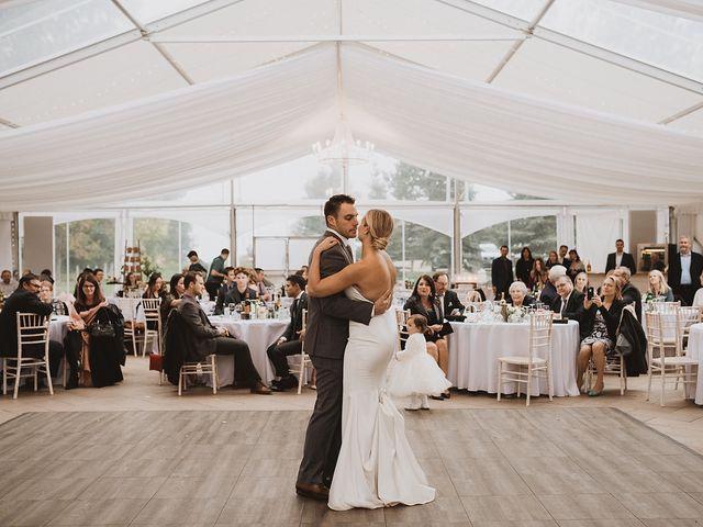 Dan and Katrina's wedding in Sylvan Lake, Alberta 1