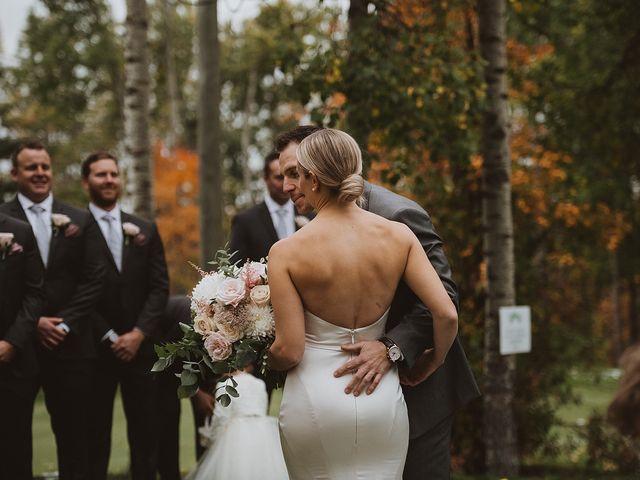 Dan and Katrina's wedding in Sylvan Lake, Alberta 34