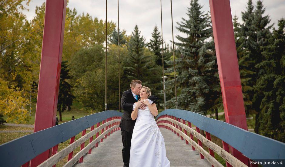 Neil and Amber's wedding in St. Albert, Alberta