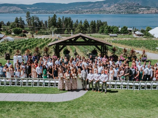 Kaylee and Bryan's wedding in Kelowna, British Columbia 4