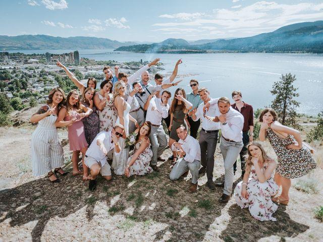 Kaylee and Bryan's wedding in Kelowna, British Columbia 5