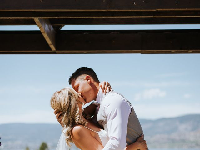 Kaylee and Bryan's wedding in Kelowna, British Columbia 1