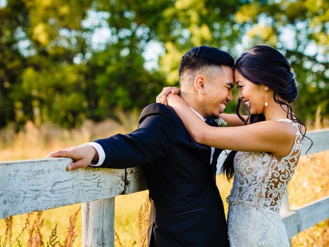 The wedding of Julie and Emmanuel
