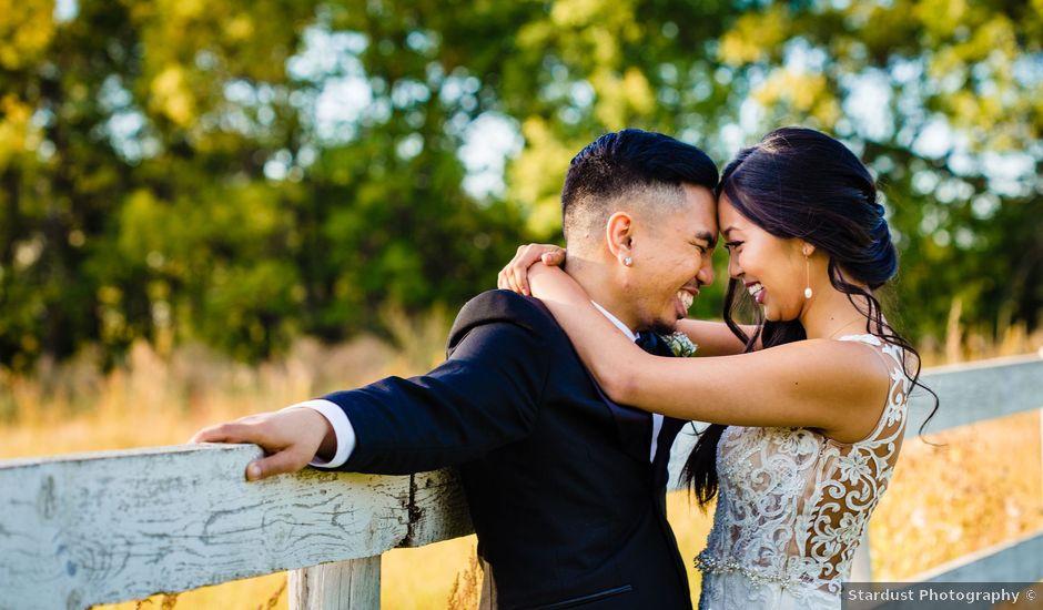 Emmanuel and Julie's wedding in Winnipeg, Manitoba