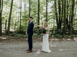 The wedding of Jasmin and Tom
