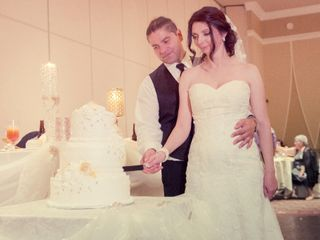 The wedding of Ivana and Bill