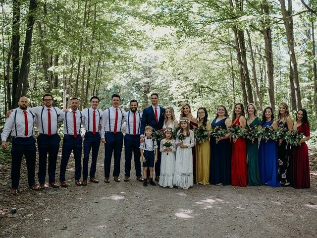 Tom and Jasmin's wedding in Barrie, Ontario 4