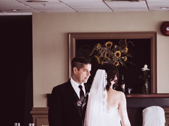 Bill and Ivana's wedding in Scarborough, Ontario 17