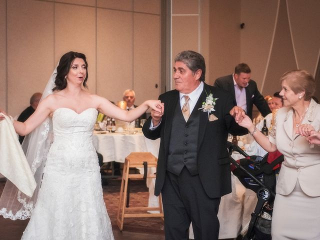 Bill and Ivana's wedding in Scarborough, Ontario 19