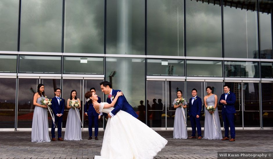 Natalie and Colin's wedding in Vancouver, British Columbia