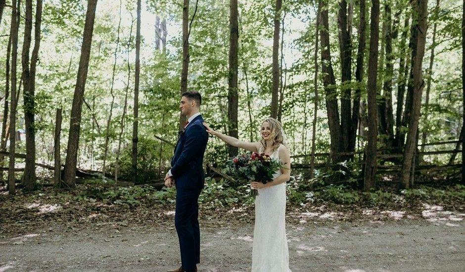 Tom and Jasmin's wedding in Barrie, Ontario