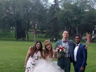 The wedding of Marina and Jasmin 2