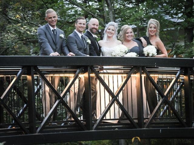 Rob and Meaghan's wedding in Ancaster, Ontario 2