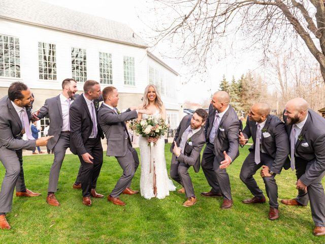 Corey and Emily's wedding in Kleinburg, Ontario 18