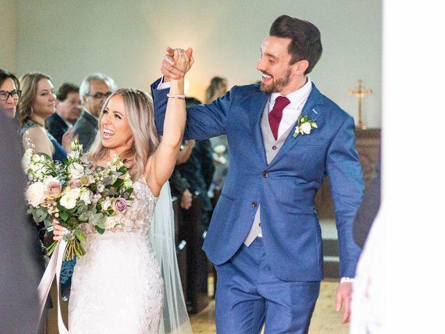 Corey and Emily's wedding in Kleinburg, Ontario 1