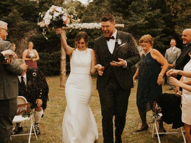 The wedding of Meg and Joe