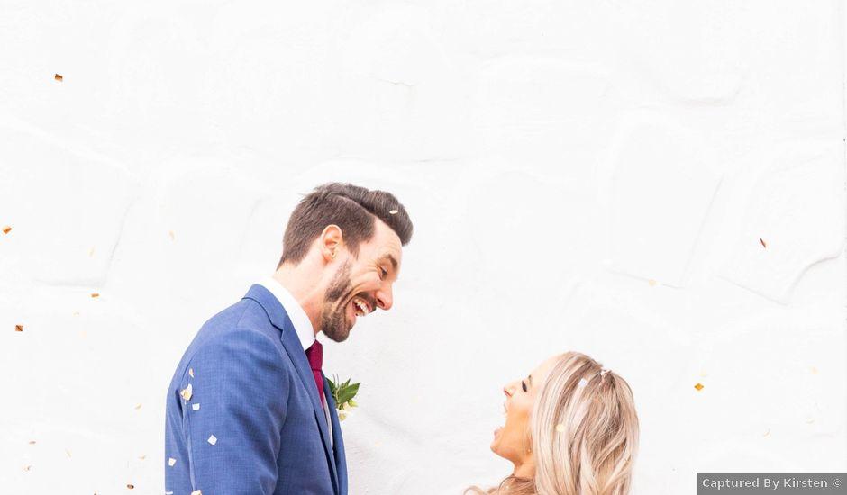 Corey and Emily's wedding in Kleinburg, Ontario