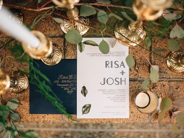 Josh and Risa's wedding in Vancouver, British Columbia 1