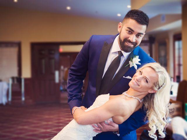The wedding of Edyta and Craig