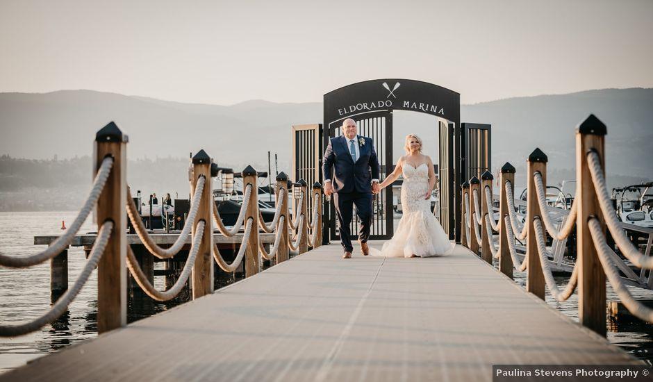 Ted and Megan's wedding in Kelowna, British Columbia