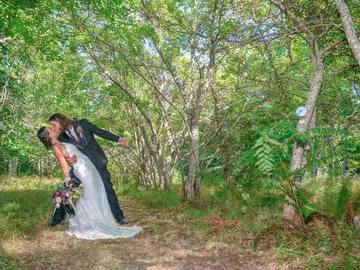 The wedding of Katia and Adam