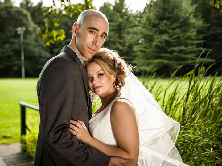 The wedding of Carolyn and Jason