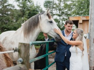 The wedding of Katie and Shane