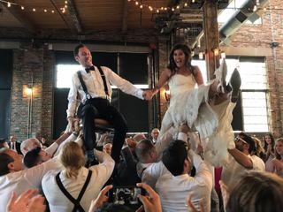The wedding of Christine and Dan