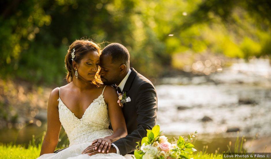 Azul and Ashley's wedding in Toronto, Ontario