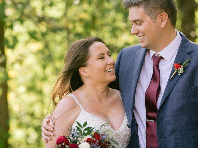 The wedding of Courtney and Matt