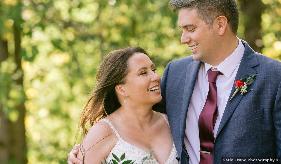 Matt and Courtney's wedding in Milton, Ontario