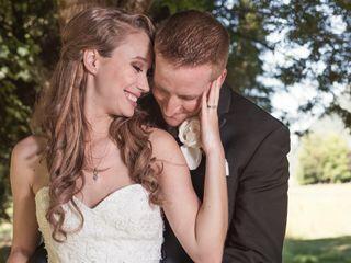 The wedding of Jennifer and James